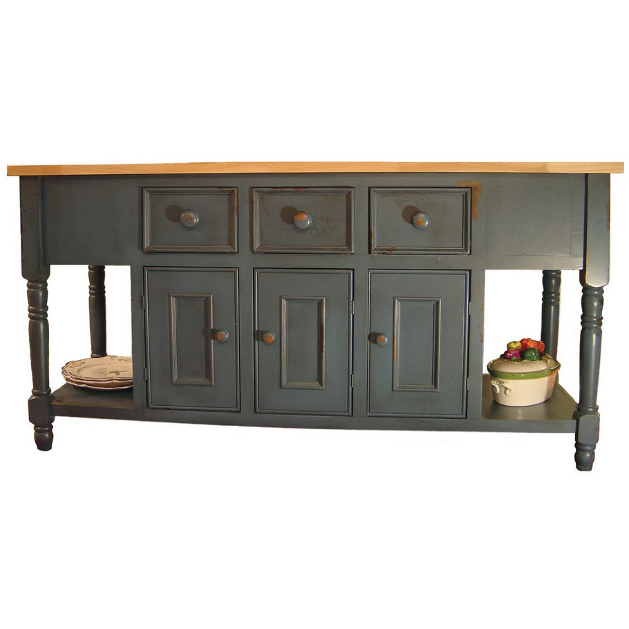 french country kitchen island photo - 5