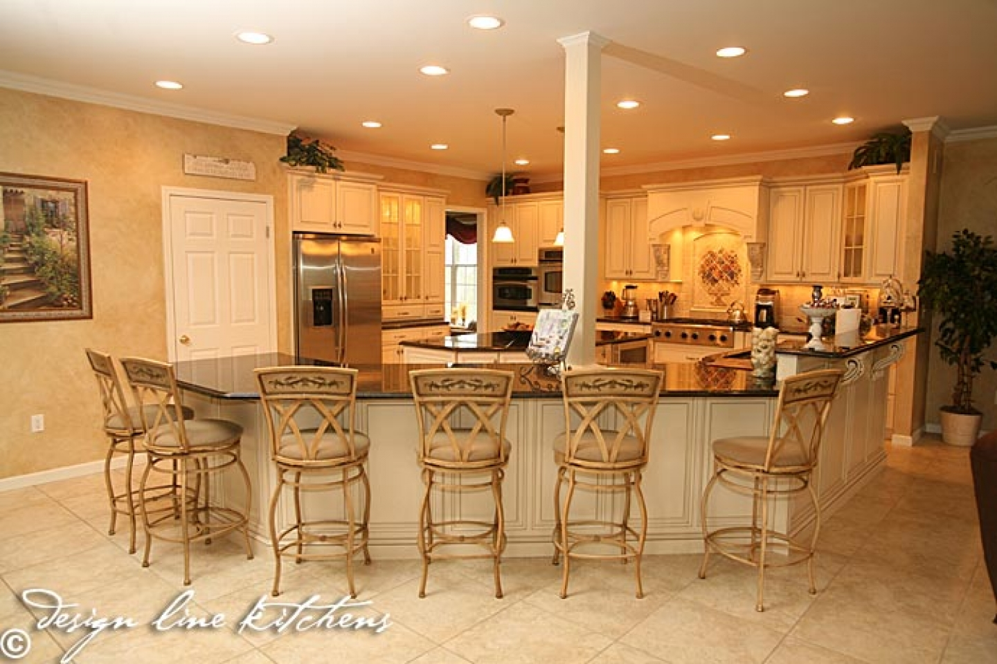 French Country Kitchen Island