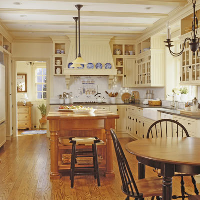 french country kitchen island ideas photo - 1