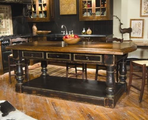 french country kitchen island ideas photo - 4