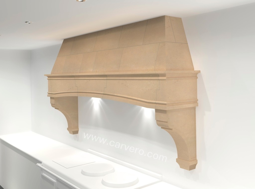 french country kitchen range hoods photo - 4