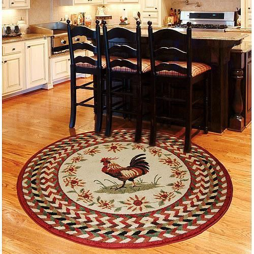 french country kitchen rugs photo - 5