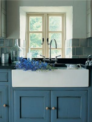 french country kitchen sinks photo - 3