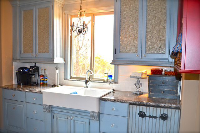 french country kitchen sinks photo - 5