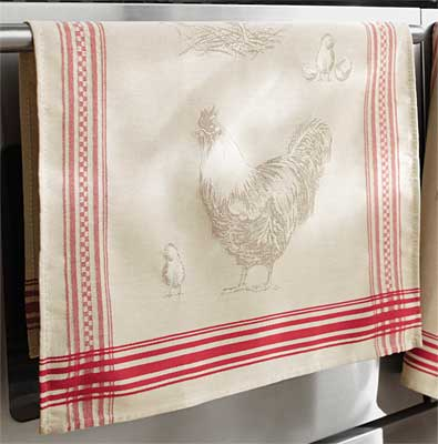 French Country Kitchen Towels