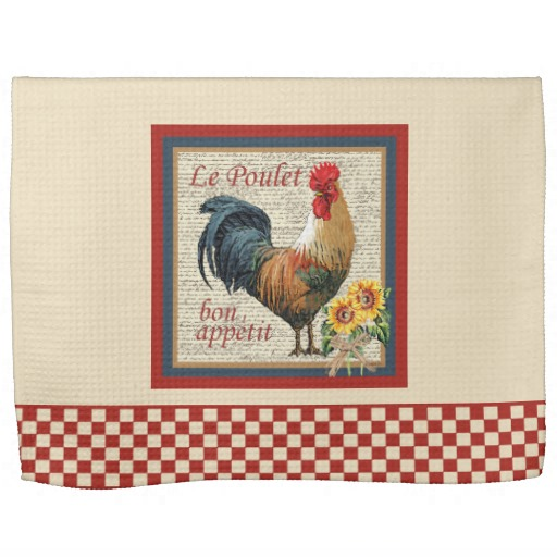 french country kitchen towels photo - 5