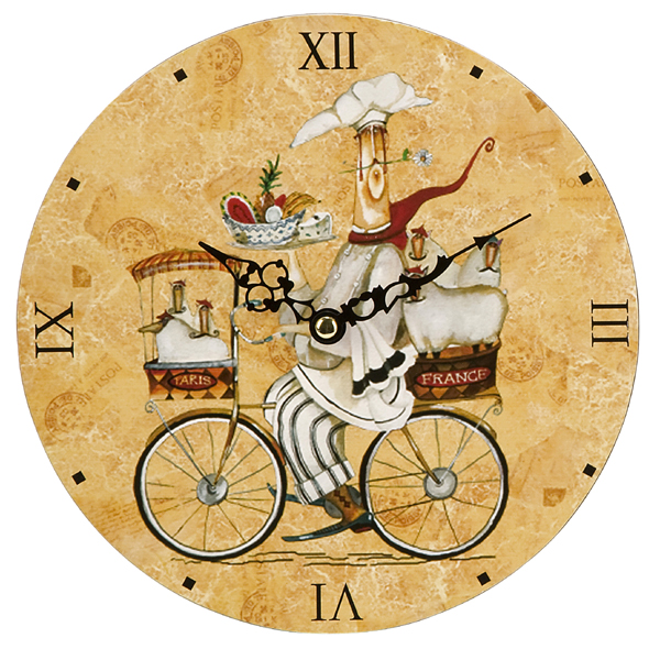 French Country Kitchen Wall Clocks