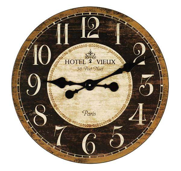 French Country Kitchen Wall Clocks Photo 3