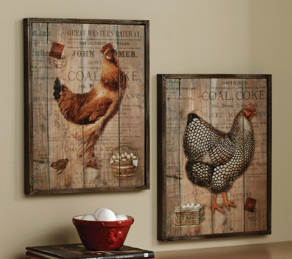 french country kitchen wall decor photo - 1