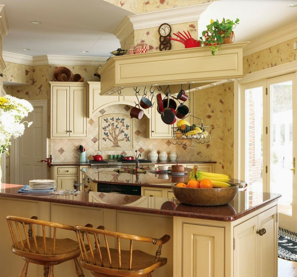 french country kitchen wall decor photo - 3