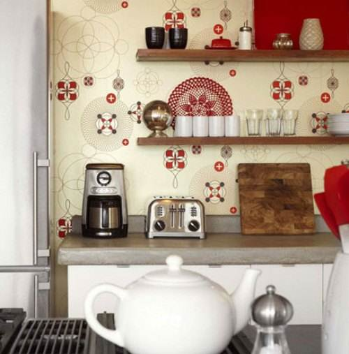 french country kitchen wallpaper borders photo - 1