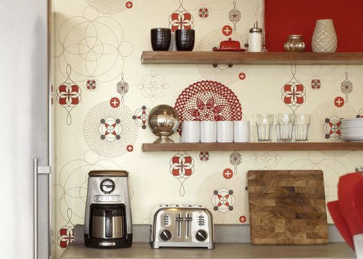 french country kitchen wallpaper borders photo - 5