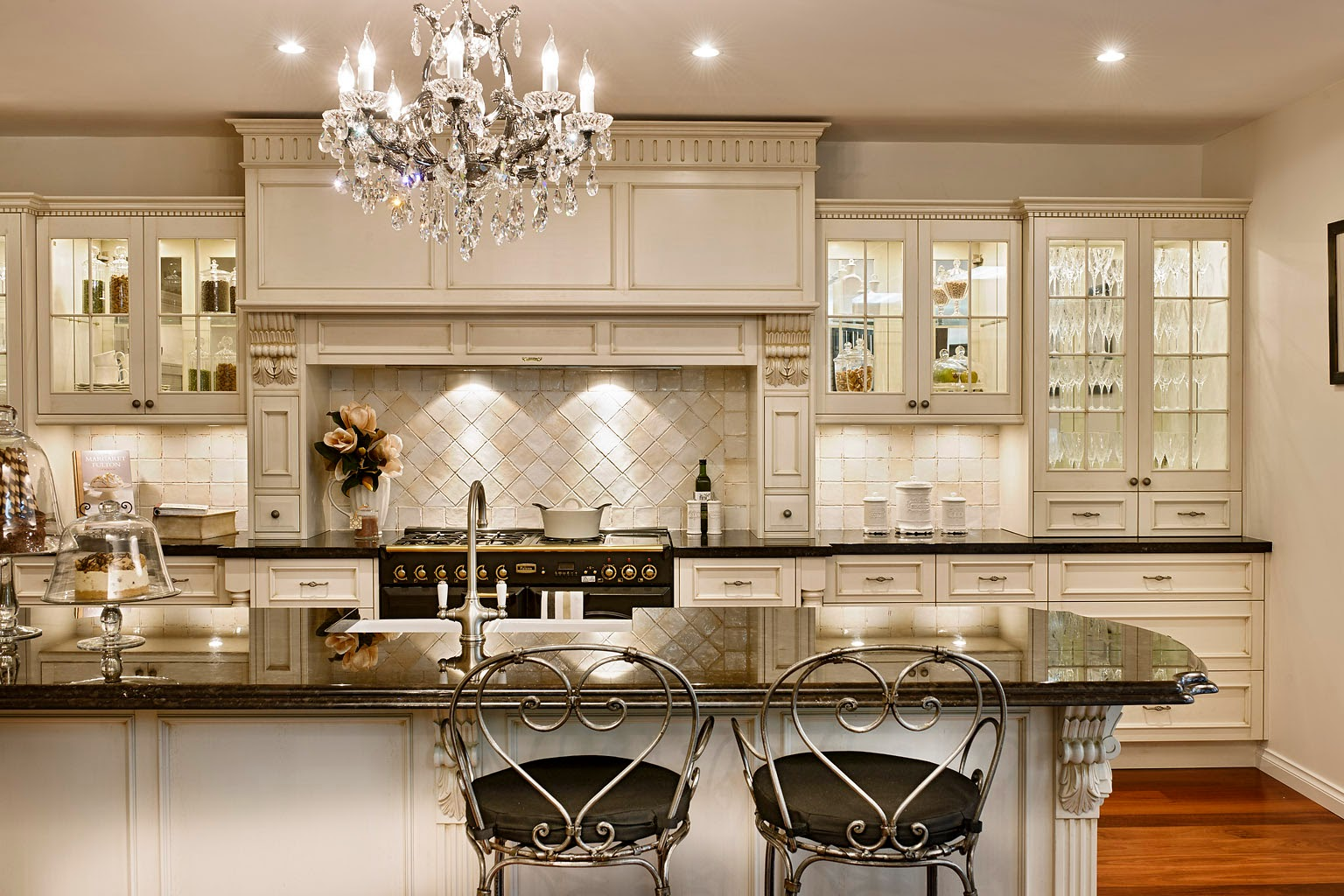 French Country Kitchen French Country Kitchen With White Cabinets  Interior & Exterior Doors