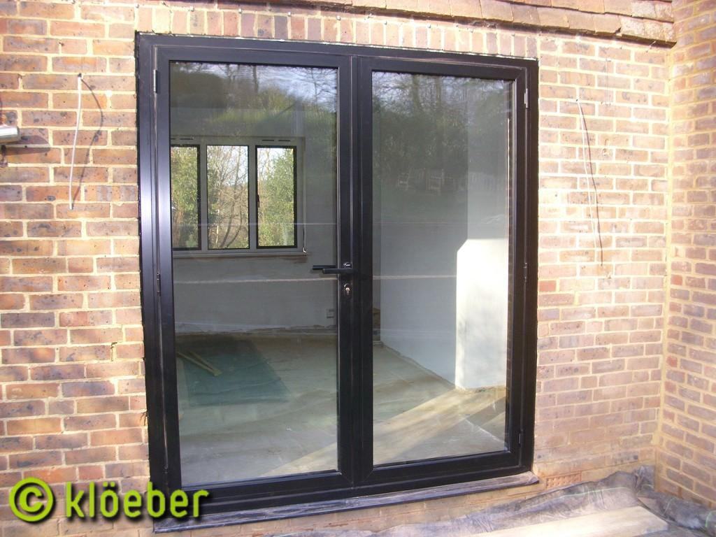 Aluminum french doors floors doors interior design for Interior exterior doors