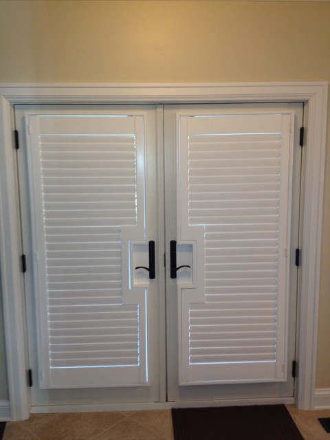 french doors exterior blinds photo - 3
