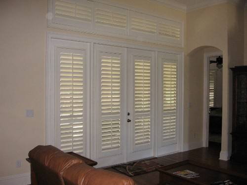 french doors exterior blinds photo - 6