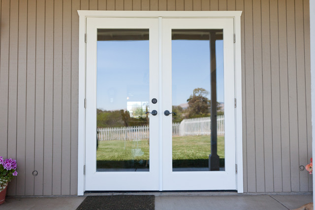 French doors exterior traditional | Interior & Exterior Doors