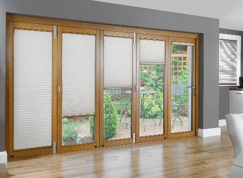 french doors exterior with built in blinds photo - 5