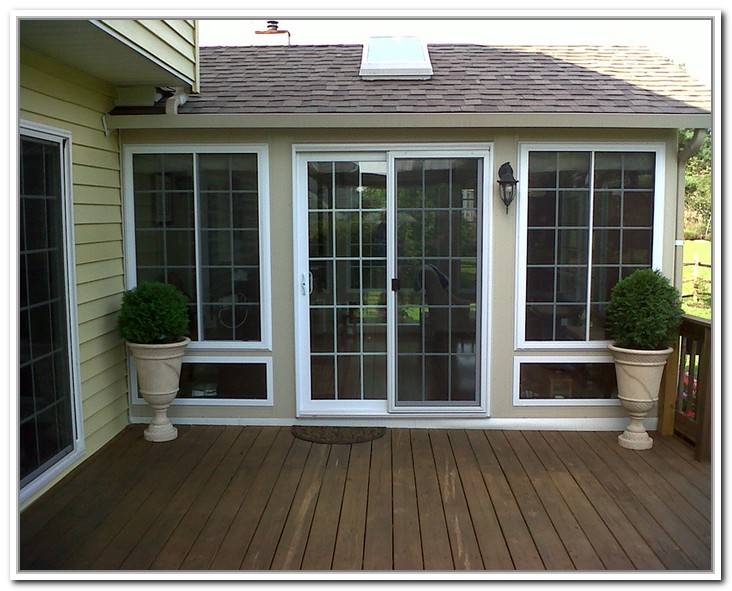 french doors exterior with screens photo - 6