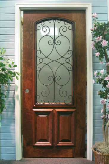 french doors exterior with side panels photo - 2