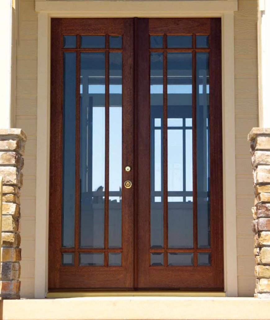 french doors exterior with side panels photo - 4