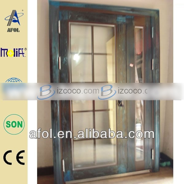 french doors exterior with side panels photo - 5