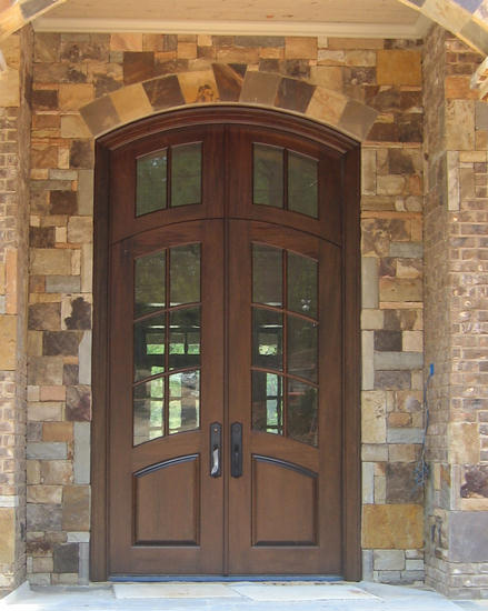 french doors exterior wood photo - 4