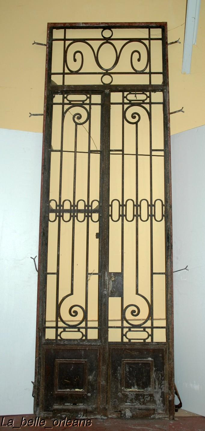 french doors exterior wrought iron photo - 6