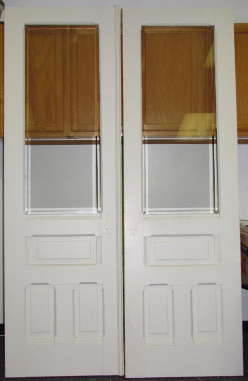 french doors interior beveled glass photo - 6