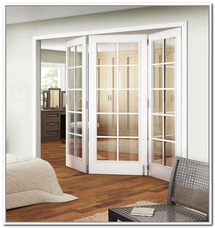 French doors interior bifold give your home the best for Exterior closet doors