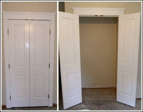 french doors interior closet photo - 1
