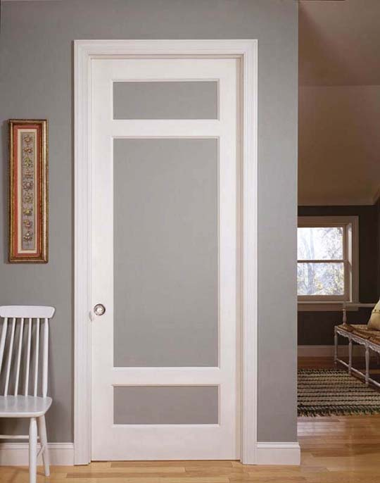 Frosted french interior doors 7 incomparable ideas for Narrow interior french doors