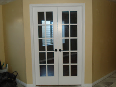 french doors interior office photo - 5