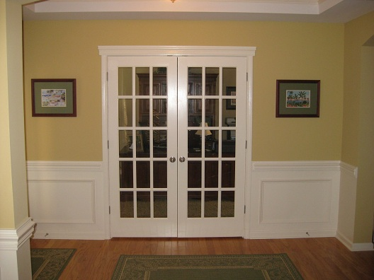 french doors interior office photo - 6
