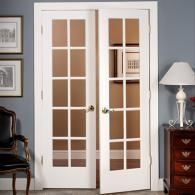 Image gallery interior french door hardware for Prehung exterior french doors