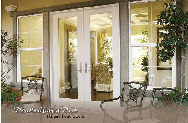 french double doors patio photo - 1