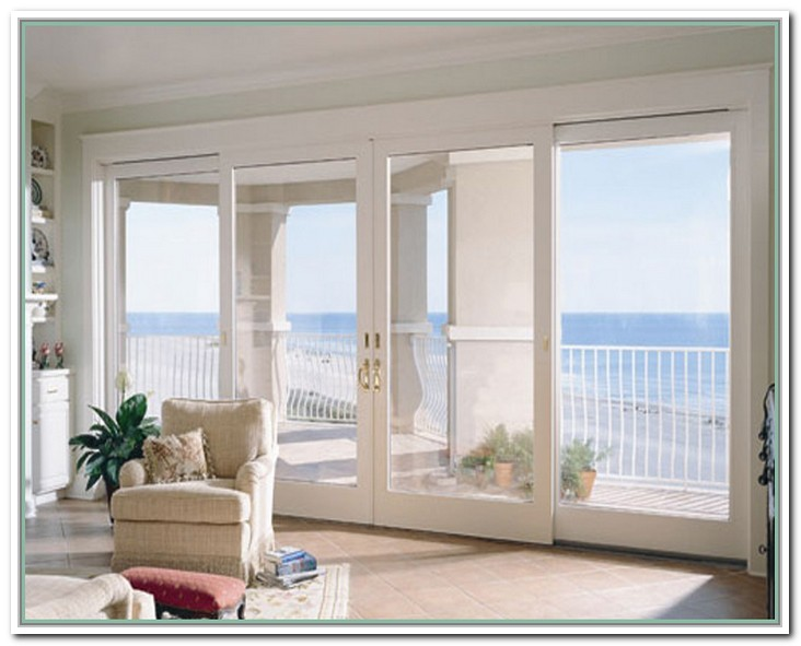 french double doors patio photo - 4