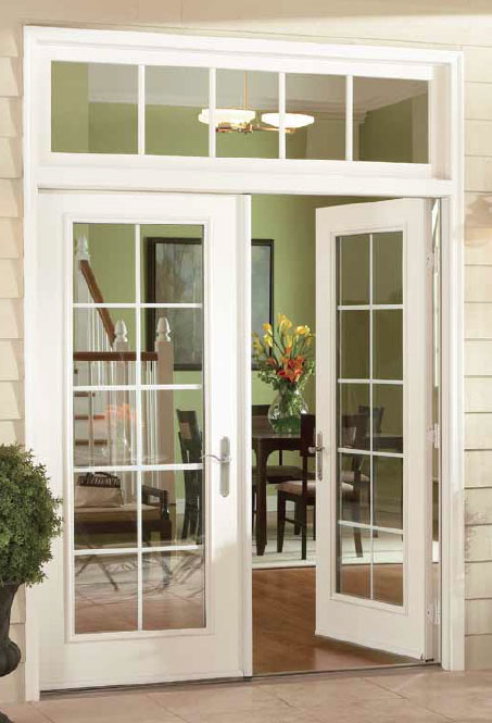 french double doors patio photo - 5