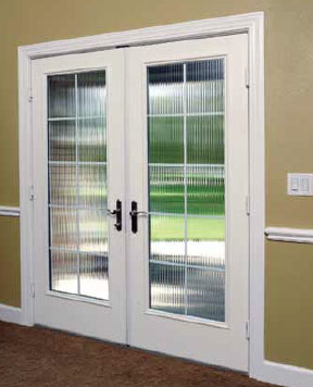french double doors patio photo - 6