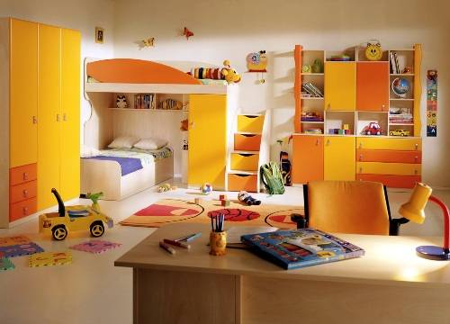 Fun bedroom furniture for kids