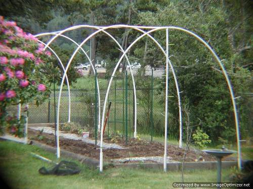garden deer fencing ideas photo - 1