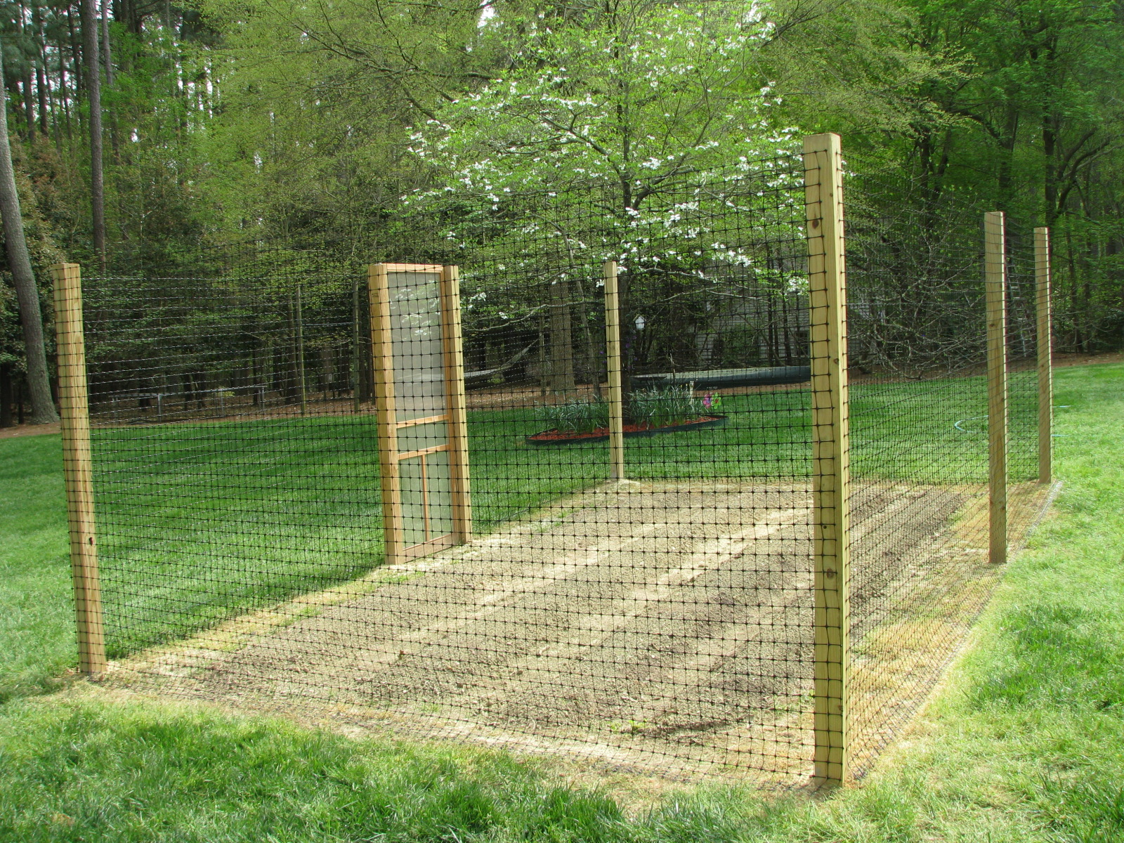 garden deer fencing ideas photo - 4
