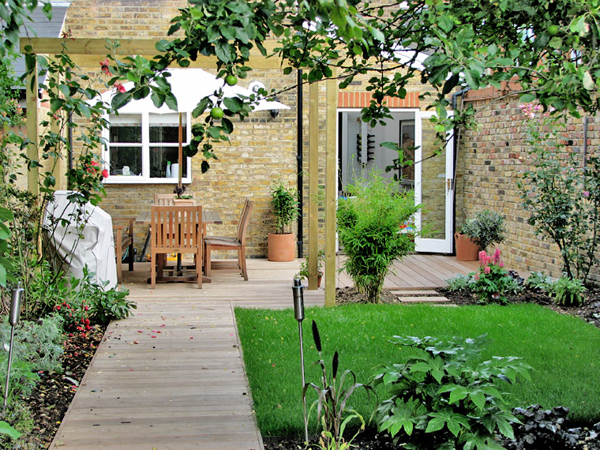 Garden Design Ideas For Terraced House Interior Exterior Doors