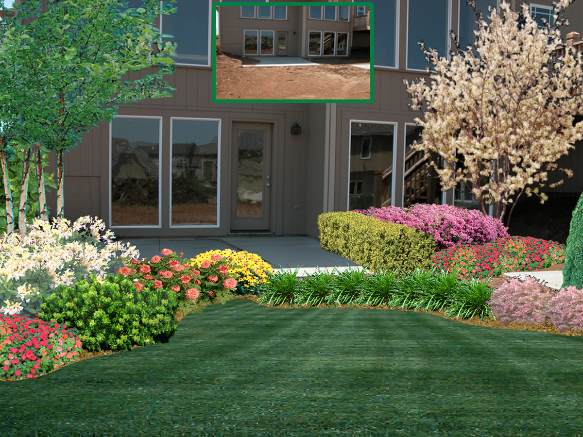 Landscaping Design Ideas For Front Of House easy landscaping ideas for front of house New Designs With Garden Design Ideas 3728 New Garden Design Front