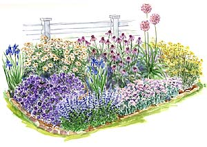 garden design ideas full sun photo - 3