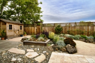 garden design ideas hard landscaping photo - 3