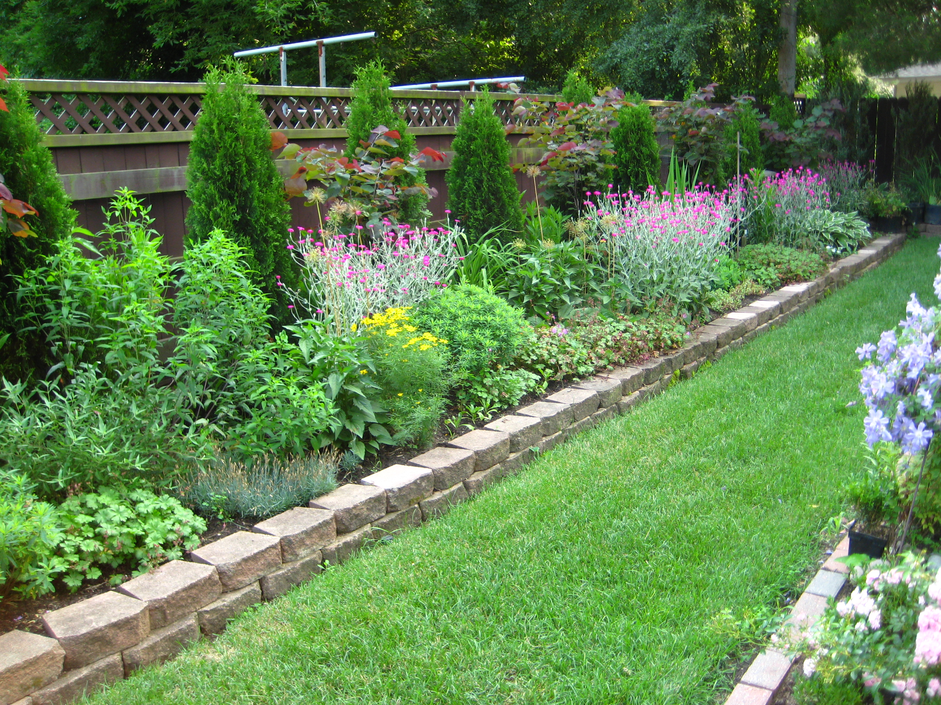 garden design ideas hard landscaping photo - 5
