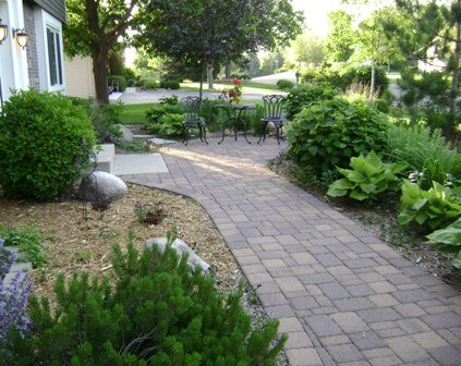 garden design ideas hard landscaping photo - 6