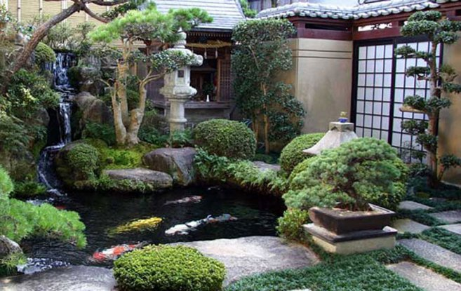 garden design ideas japanese photo - 1