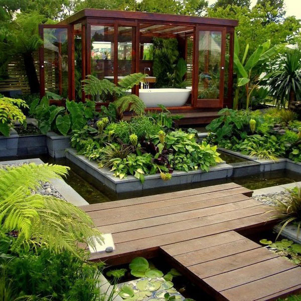 garden design ideas modern photo - 3